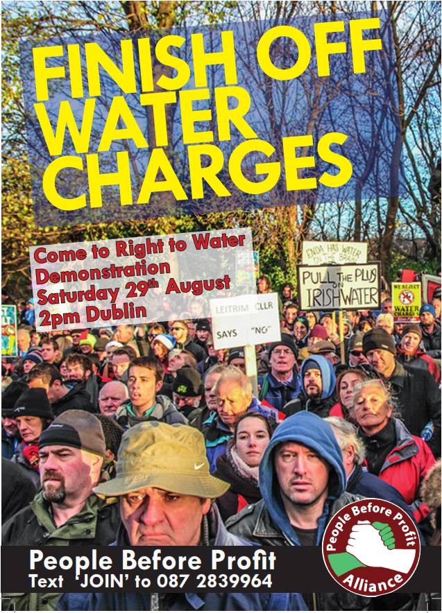 finish off water charges