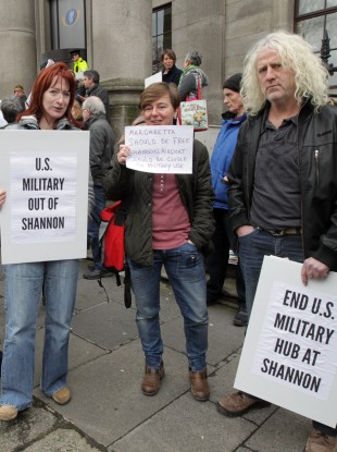 us miltary out of shannon.