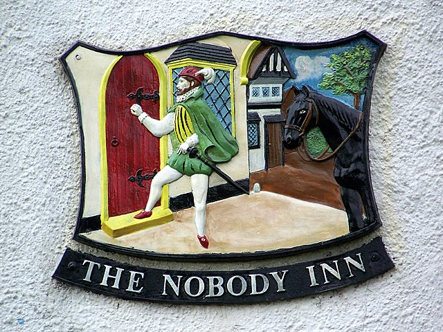 The_sign_for_the_Nobody_Inn,_Doddiscombsleigh_-_geograph.org.uk_-_1308753.jpg